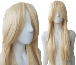 BRIGHT BLONDE STRAIGHT WIG PK009