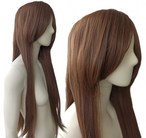 BROWN STRAIGHT WIG PK006